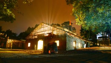 古窑·明代葫芦窑复烧夜景