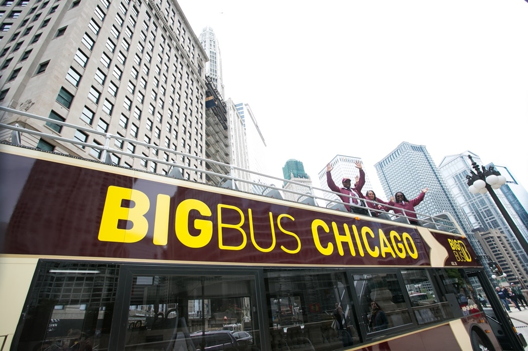 Chicago Big Bus Hop-on Hop-off Sightseeing Tour