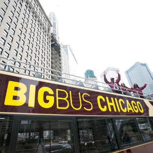 34% OFF丨Chicago Big Bus Hop-on Hop-off Sightseeing Tour
