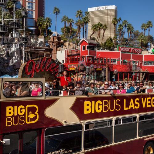 Big Bus Las Vegas Hop-on Hop-off Bus Tour