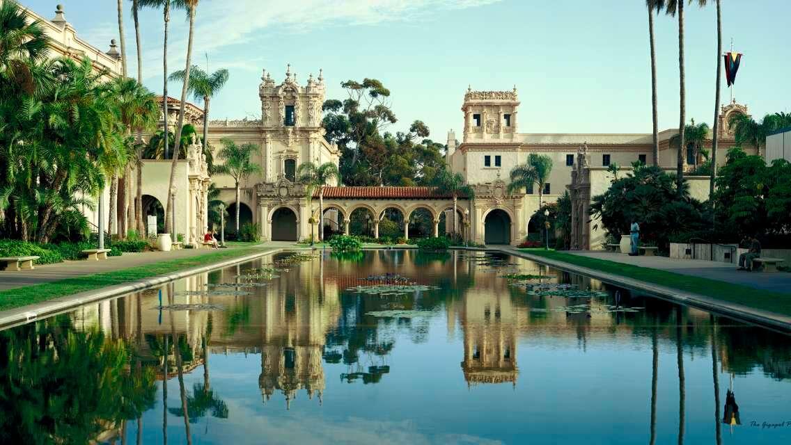 聖地亞哥海灣遊船+中途島號航空母艦博物館+聖地亞哥巴爾波亞公園+老城區一日遊(中英司導)