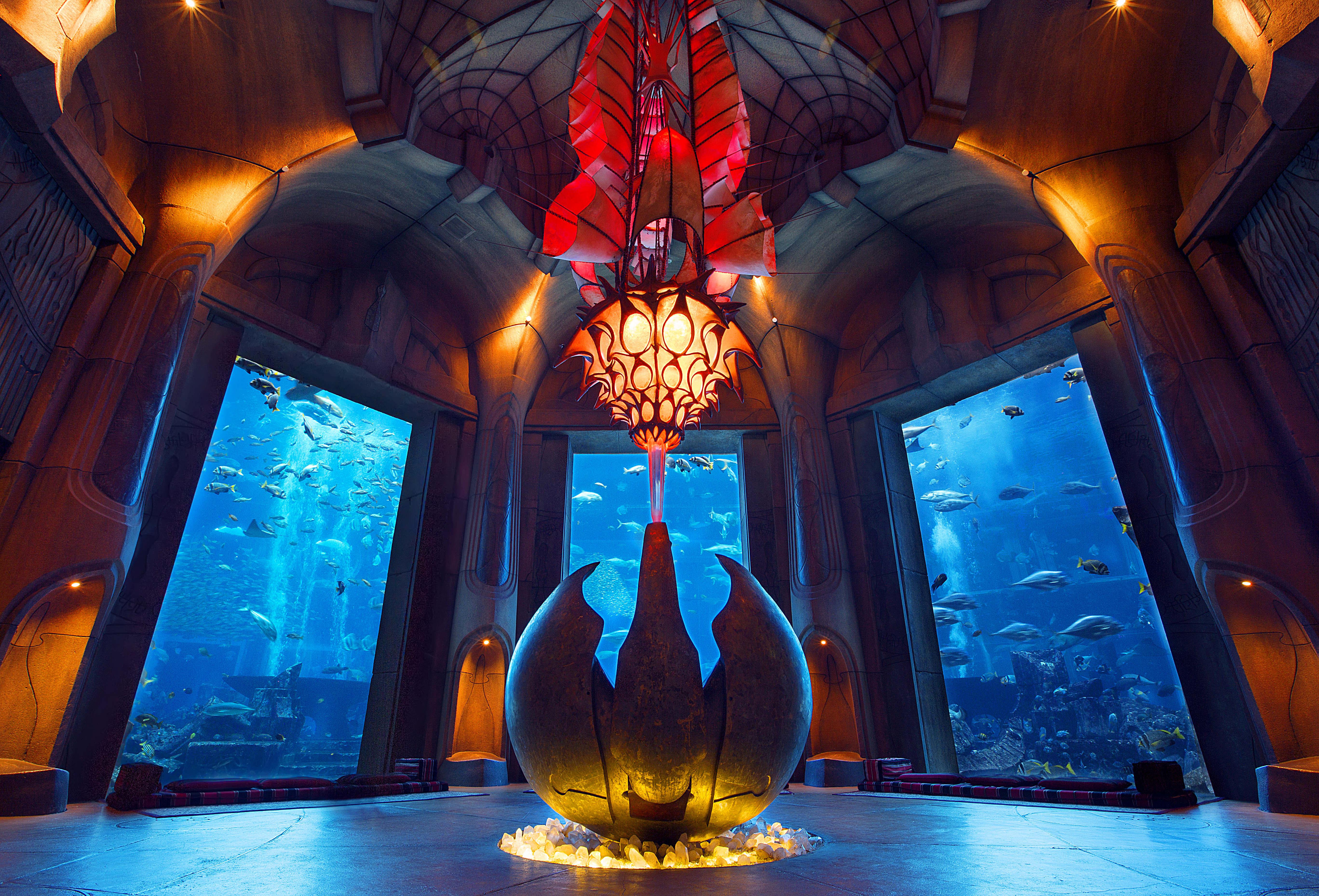 ドバイ水族館&ブルジュハリファ124+125階展望デッキ入場チケット