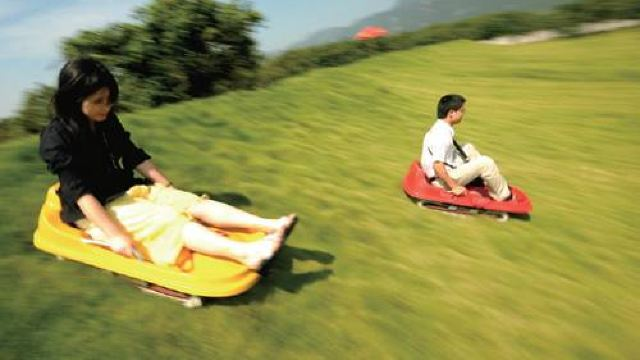 临海江南大峡谷景区滑草    +紫阳街一日游【绿染童心  悦动峡谷  赠送野炊水饺】