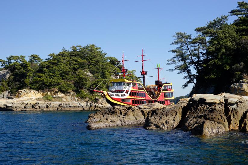 Kujukushima Pearl Sea Resort Cruising Tour