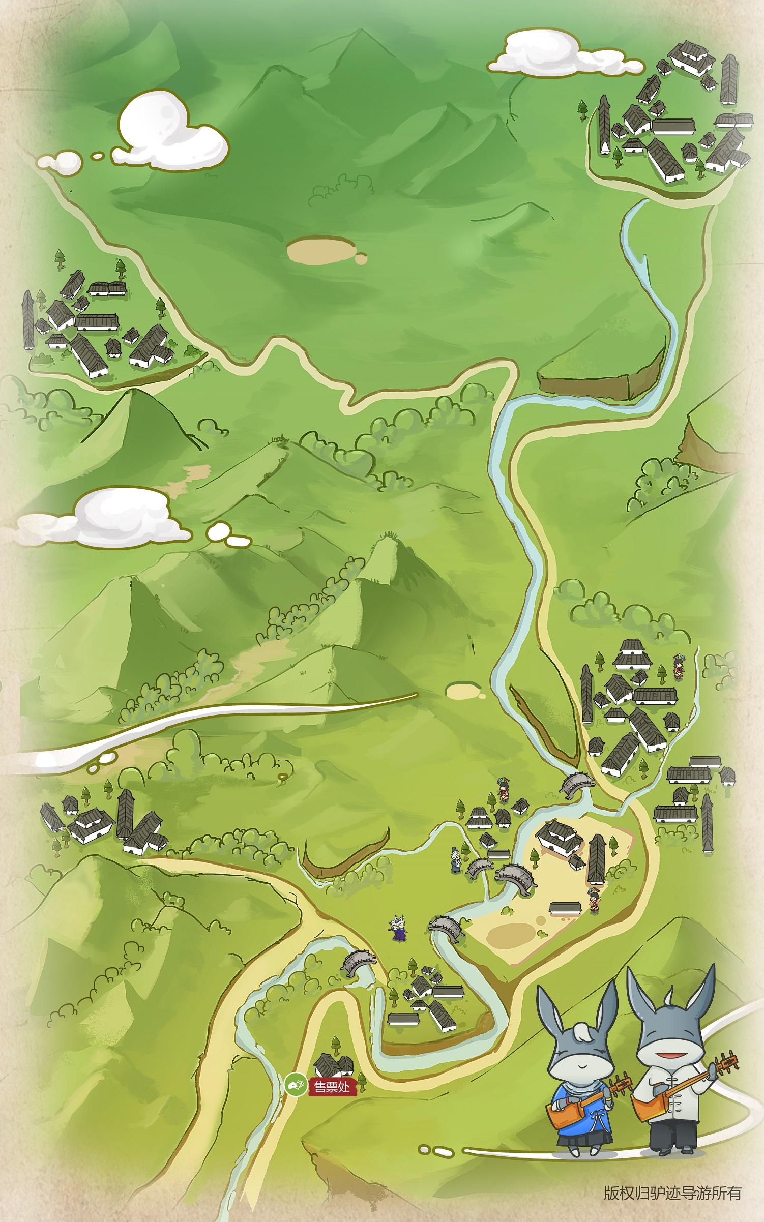 程阳八寨景区手机导游【全景地图、园内导航、