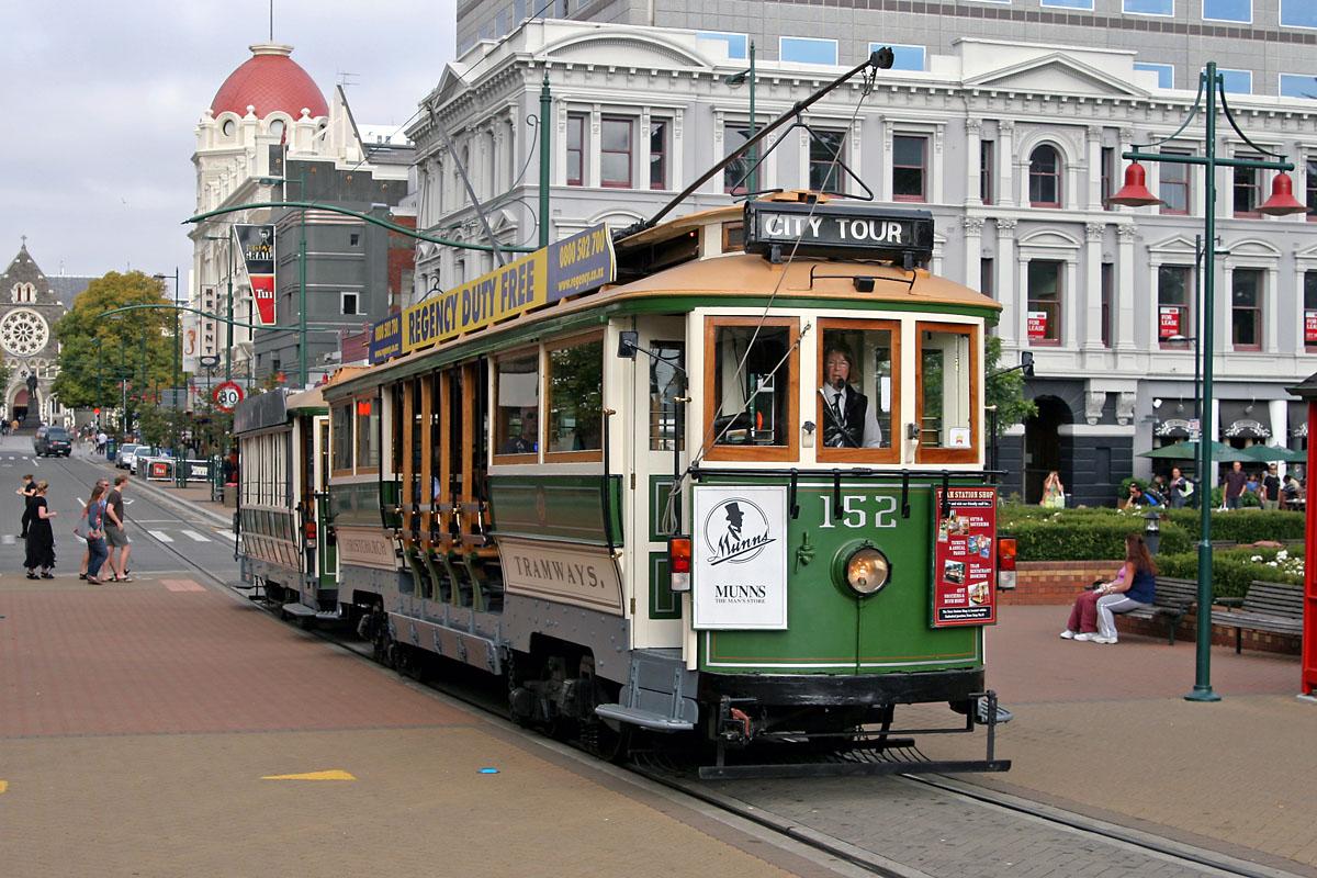 基督城有軌電車觀光