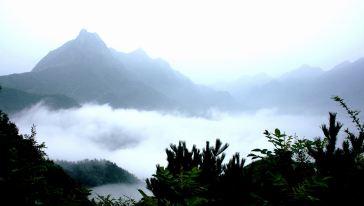 羊尾山雾海