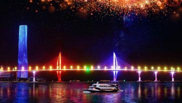 珠澳海湾夜游 (4)