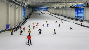 仙女山室内滑雪场 (4)