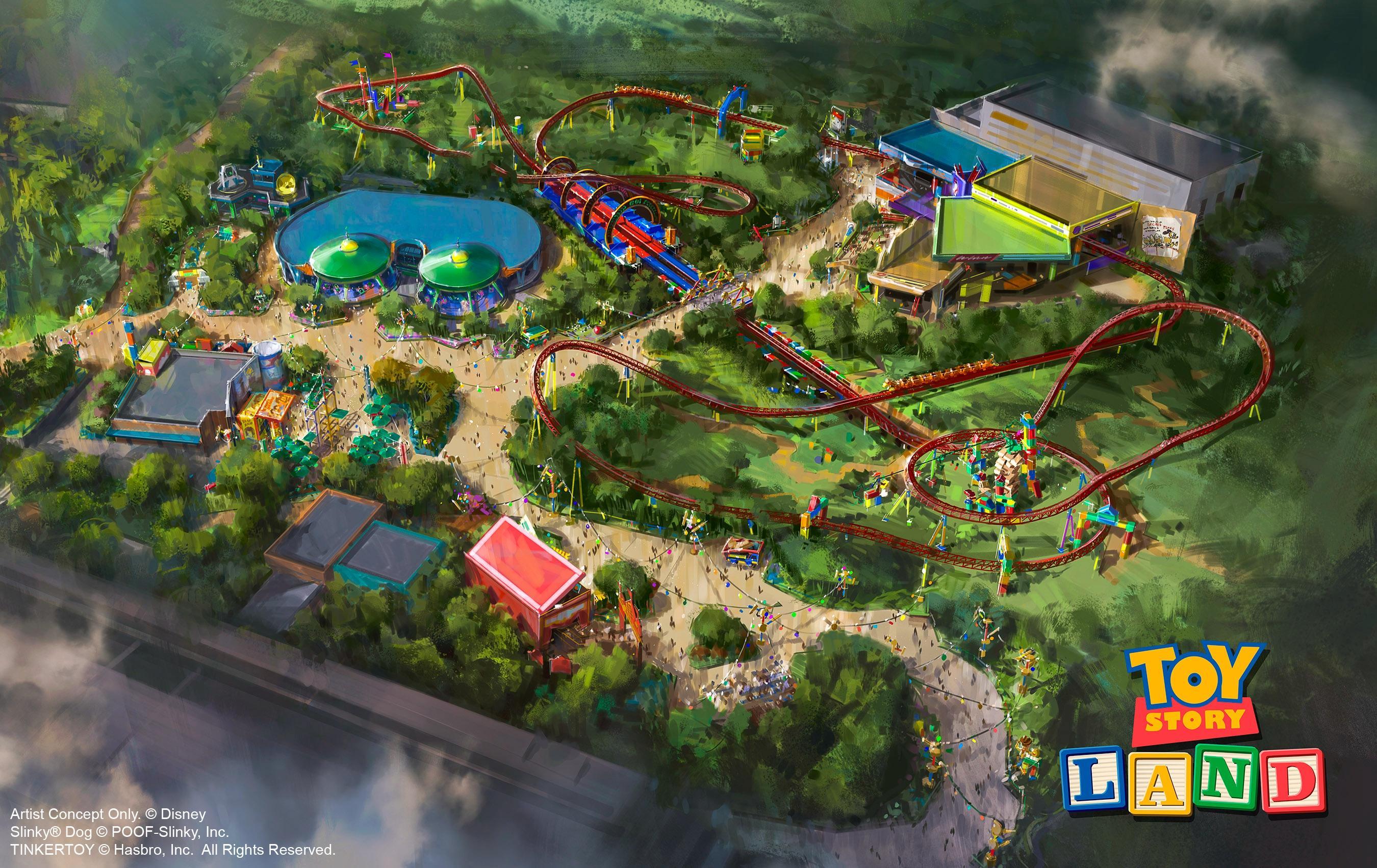 玩具总动园 鸟瞰设计图