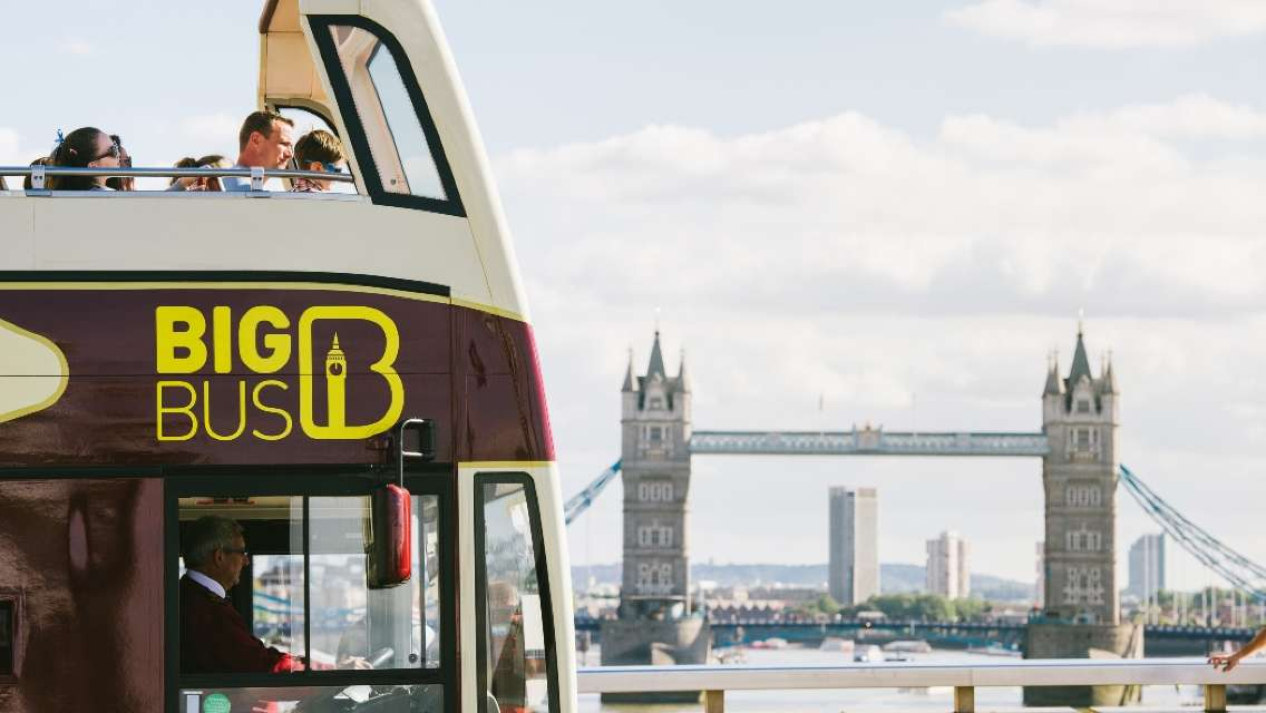 London Big Bus Hop-On Hop-Off Tours (Including Thames Cruise)