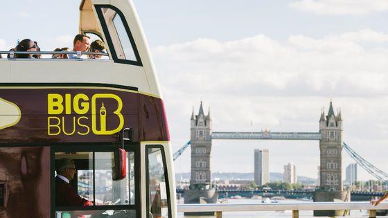 Summer Sale | London Big Bus Hop-On Hop-Off Tours (Including Thames Cruise)
