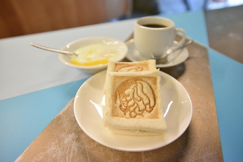 景点ID:66797 - 圣淘沙鱼尾狮塔 - Merlion Café Toast Set B