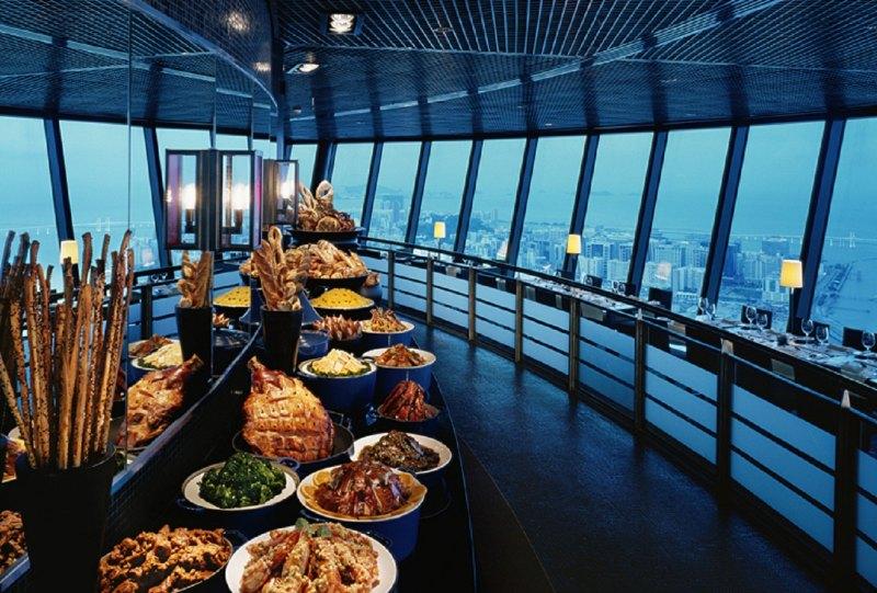마카오타워 360도 레스토랑 식사권 (마카오타워 입장권 증정)