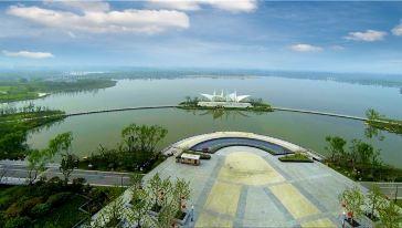 潘安湖鸟瞰图1