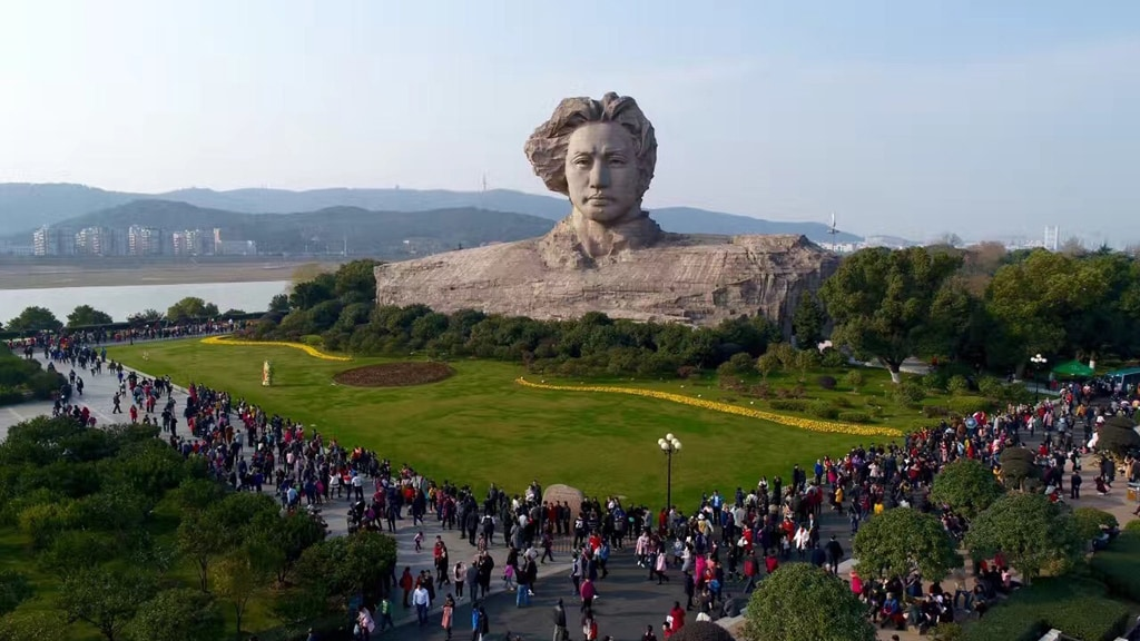 長沙橘子洲+韶山毛澤東故居+毛澤東紀念館一日遊
