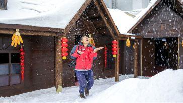 仙女山室内滑雪场 (7)