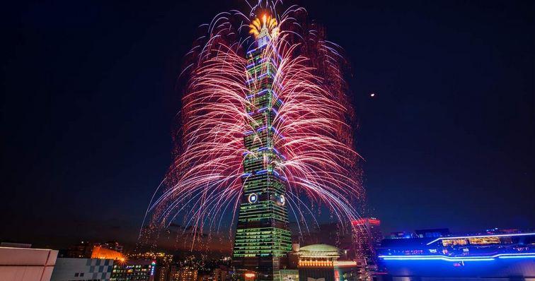 2020 TAIPEI 101 New Year's Fireworks