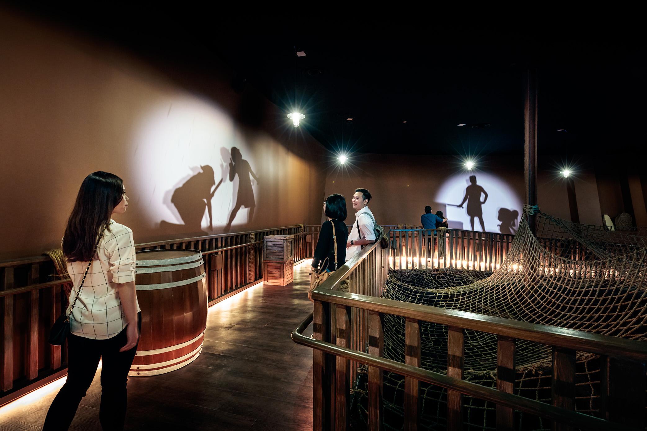 新加坡海事博物馆新展区之逃离海盗