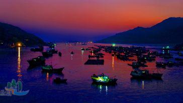 沙堤鱼港(渔舟唱晚)