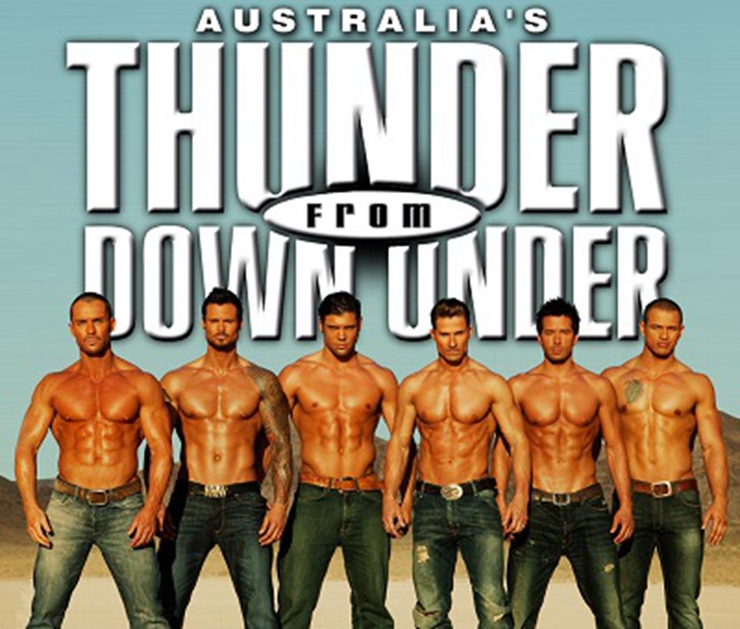 (Thunder from Down Under)拉斯維加斯澳洲猛男秀演出票