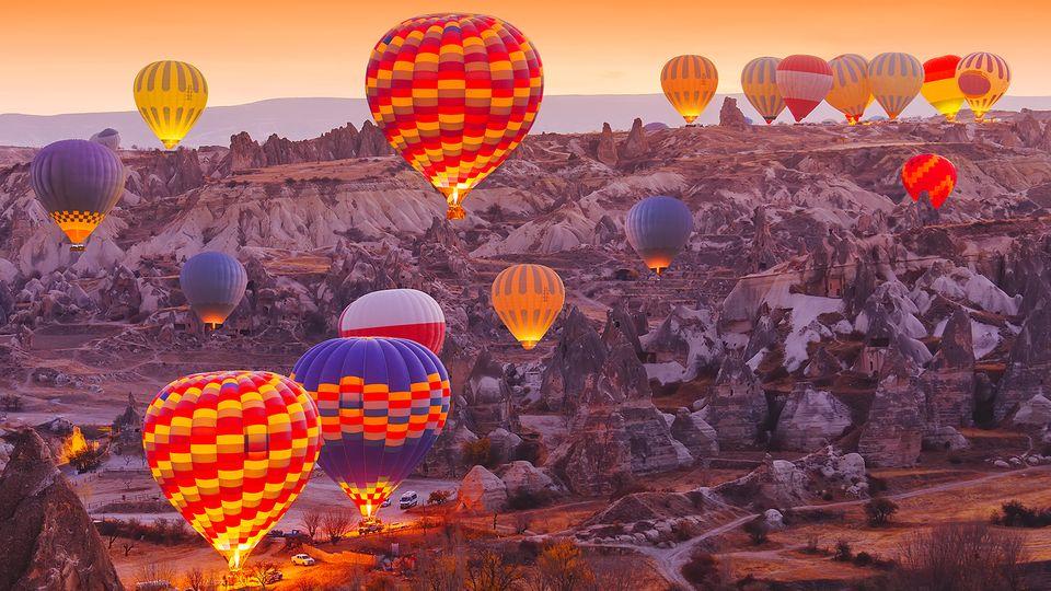 土耳其卡帕多奇亞熱氣球 格雷梅熱氣球體驗 皇家 蝴蝶老大公司 迷你小框可選 中文客服