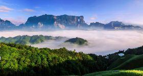天门山国家森林公园(A线山顶游-索道往返)门票成人票(入园时间段13:00-14:00,赠接站服务)