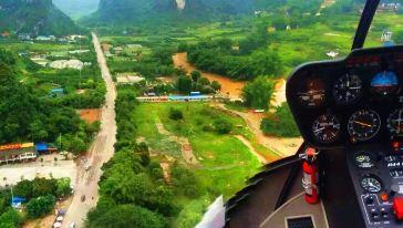 阳朔展卓直升机十里画廊线路 (3)