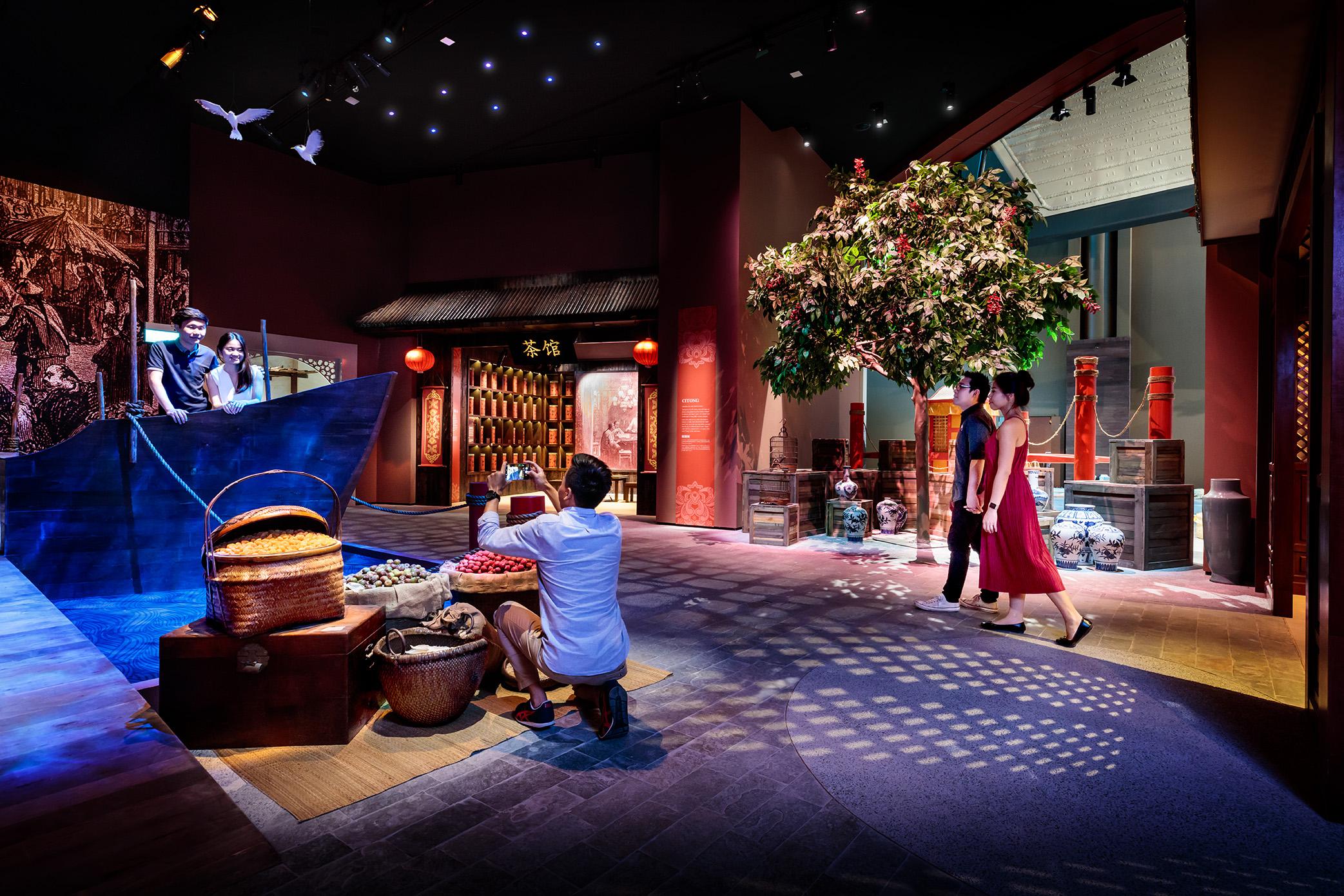 新加坡海事博物馆新展区之昔日泉州港