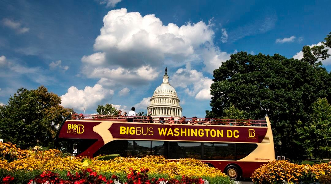 Washington Dc Tour Bus >> Big Bus Washington Dc Hop On Hop Off Bus Tour