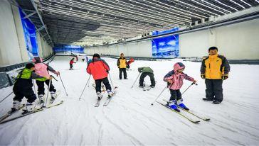 仙女山室内滑雪场 (6)