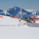 Helicopter and Ski Plane Combo (45 minutes unforgettable experience including snow landing)