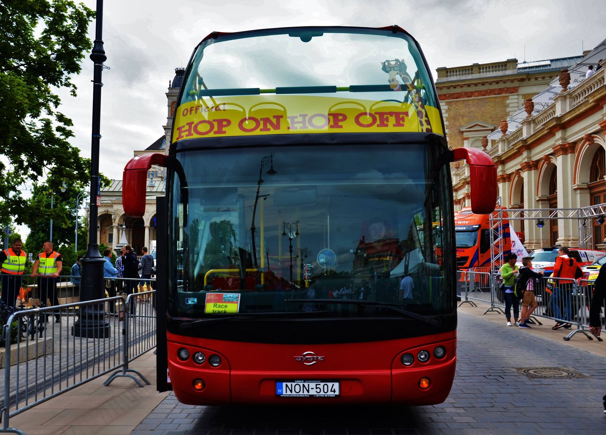 布达佩斯 bus01
