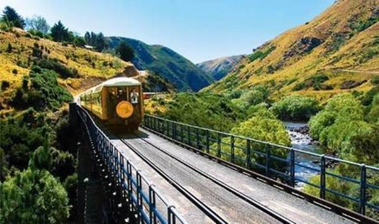 但尼丁 泰伊里峽谷觀光火車之旅 (但尼丁-普克朗基往返 買成人票送小童票 )