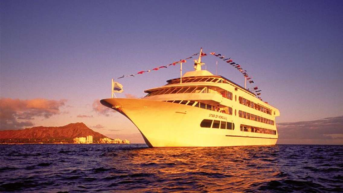Star of Honolulu Hawaii Dinner Cruise Day Tour (Admission Ticket + Transfer + Dinner)