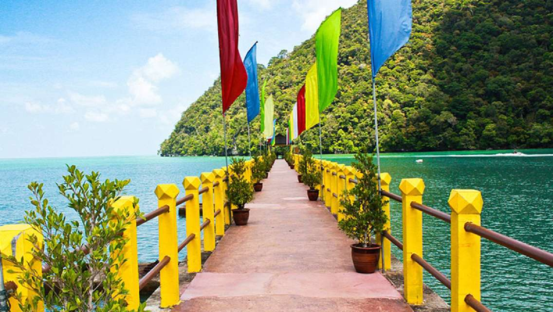 Langkawi Island Hopping Boat Tour with Fishing & BBQ Lunch