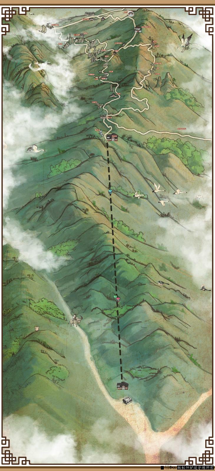 羊狮慕景区手机导游【全景地图、园内导航、线