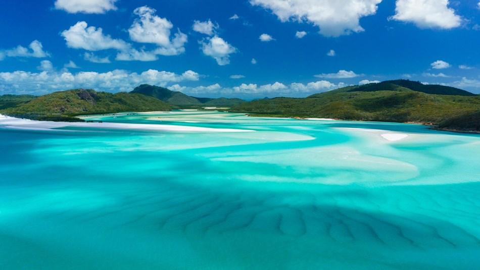 澳大利亞昆士蘭艾利灘白天堂沙灘+希爾灣入口觀景台+浮潛快艇一日遊(雙浮潛點 浮潛愛好者)