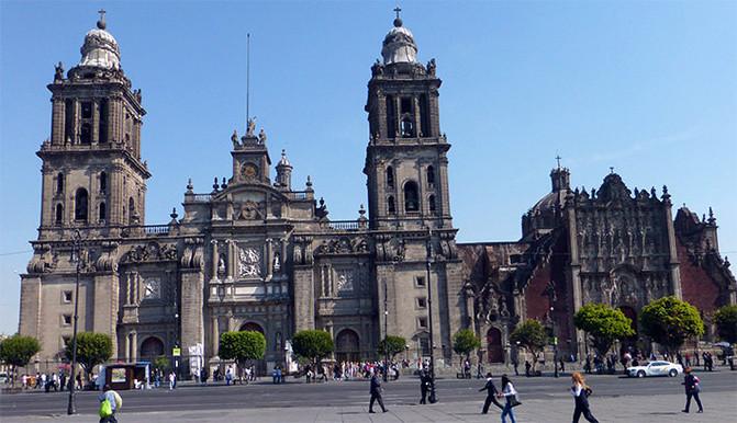 美洲 墨西哥合众国首都 墨西哥城 - 西部落叶 - 《西部落叶》· 余文博客