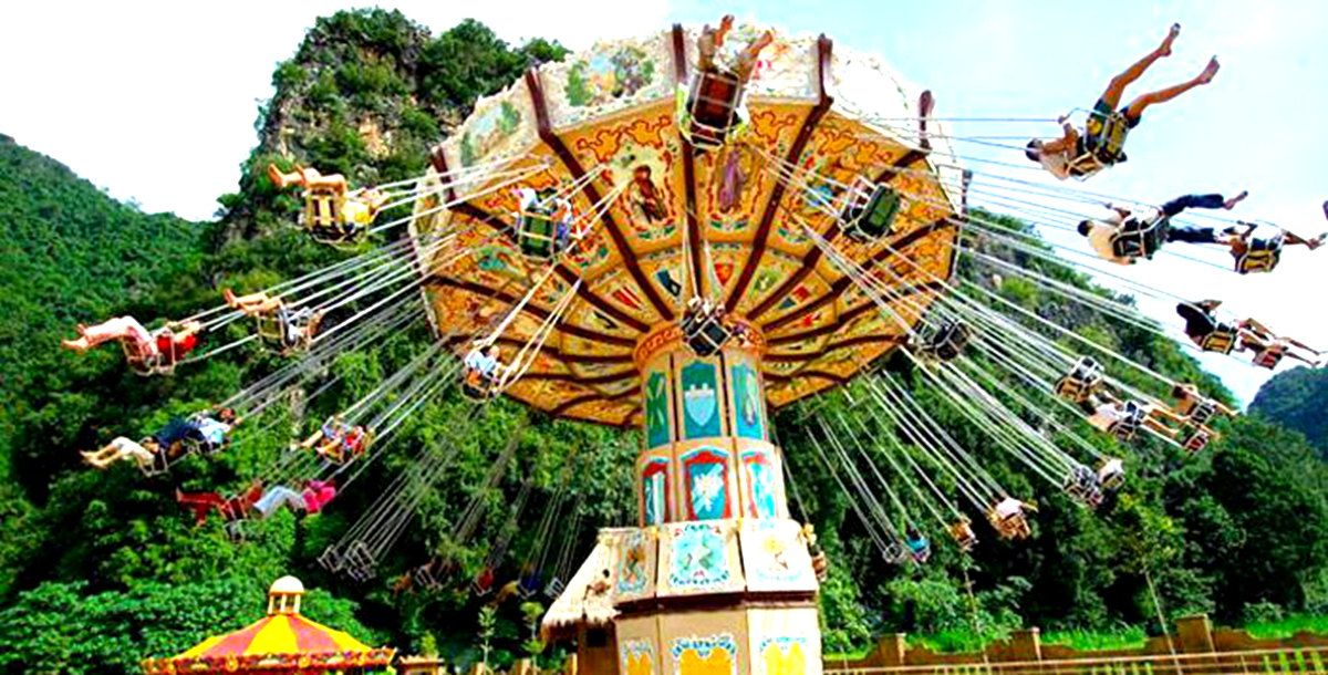 Ipoh Lost World of Tambun Ticket