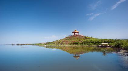 新疆-博斯腾湖