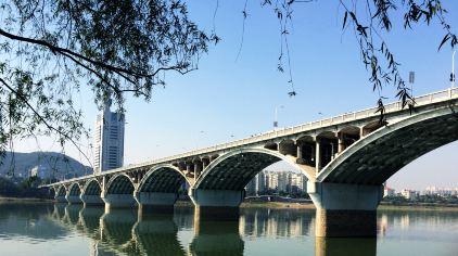 湖南长沙橘子洲大桥