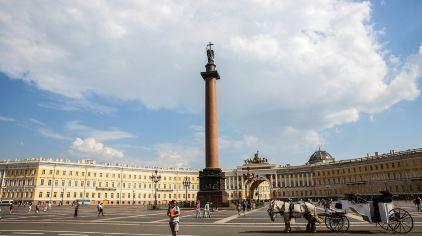 俄罗斯-圣彼得堡-冬宫十二月人广场