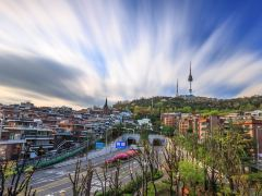 乘巴士逛市区,首尔精华2日游