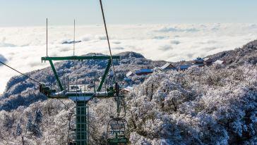 天门山森林观光缆车 (2)