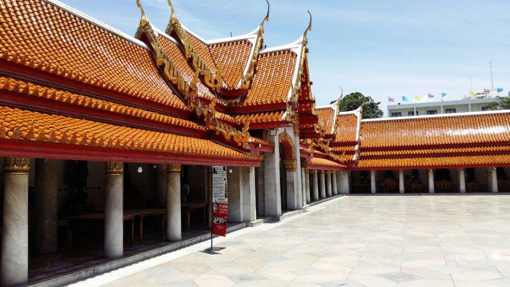 云石寺  Wat Benchamabophit   -3