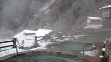 海螺沟二号营地冰川温泉