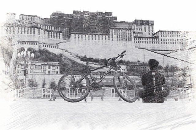 说走就走,要的只是一个决定   于是,我骑着单车去了西藏 - 拉萨游记攻略【携程攻略】