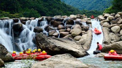 九龙谷景区-漂流1