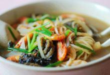 杭州美食图片-片儿川面